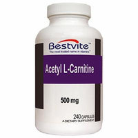 Acetyl L-Carnitine 500mg (240 Capsules)