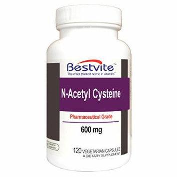 N-Acetyl Cystein 600mg (NAC) (120 Vegetarian Capsules)
