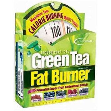 Applied Nutrition Green Tea Fat Burner -- 30 Liquid Soft-Gels (3 PACK)