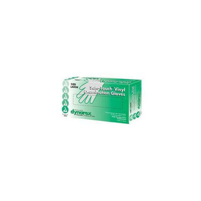 Complete Medical Supplies Vinyl Exam Gloves Powder-Free Box / 100 Large - 3008C