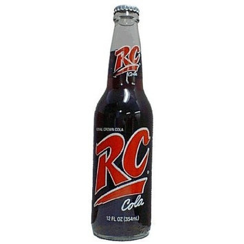 RC Cola Soda 12-pack RC Royal Crown Cola Glass Bottle