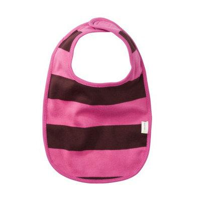 Licensed Kee-ka Organic Bib Pink/Chocolate