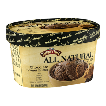 Turkey Hill All Natural Ice Cream Chocolate Peanut Butter