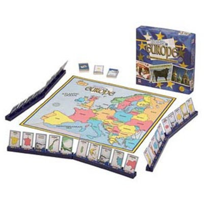 10 Days Europe Geography Game Ages 10+, 1 ea