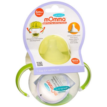 mOmma Spill Proof Cup with Dual Handles