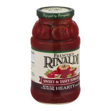 Francesco Rinaldi Sweet & Tasty Tomato Hearty Pasta Sauce