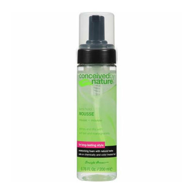 Conceived By Nature Mousse Extra Hold 6.76 fl oz