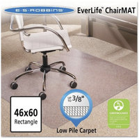 ES Robbins Multi-Task Series AnchorBar Rectangle Chair Mat for Carpet