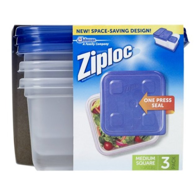 Ziploc Containers Medium Square