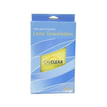 California Accessories Pre-Moistened Lens Towelettes Cleaner