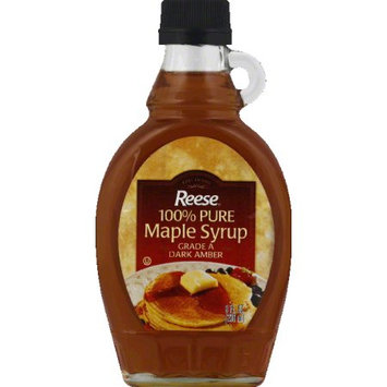 Reese: Syrup 100% Pure Maple 8 Oz, 12 Pk, Pack of 12