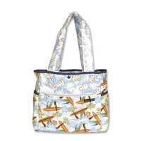 Trend Lab Tulip Tote Style Diaper Bag, Surf's Up (Discontinued by Manufacturer)