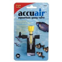 JW Pet Company Accuair Aquarium Gang Valve, Single
