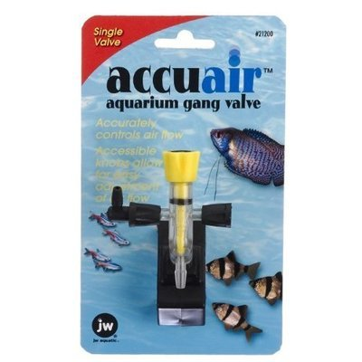 JW Pet Company Accuair Aquarium Gang Valve, Single