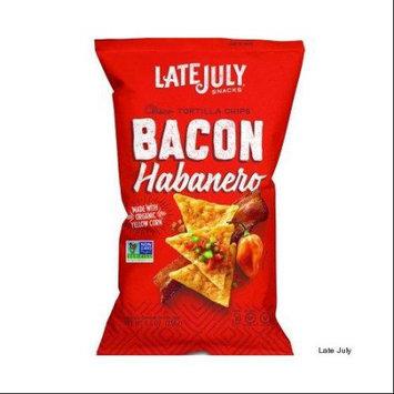 Late July® Snacks Clasico Tortilla Chips Bacon Habanero