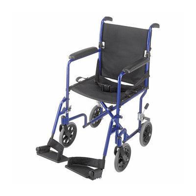 Mabis Briggs Healthcare 19'' Ultra Lightweight Aluminum Transport Chair