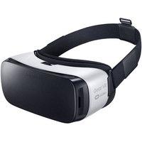 Samsung Gear VR Smart Headband - Head, Eye - Accelerometer, Proximity Sensor, Gyro Sensor - Touchscreen - Frost White, Black - Gaming, Videos