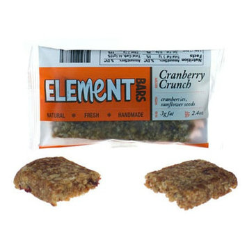 Element Bars Cranberry Crunch Energy Bars 12 Pack Cranberry