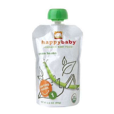 Happy Baby Organic Baby Food: Stage 1 / Starting Solids Green Beans