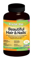 Crystal Star Beautiful Hair & Nails - 60 - Capsule [Health and Beauty]