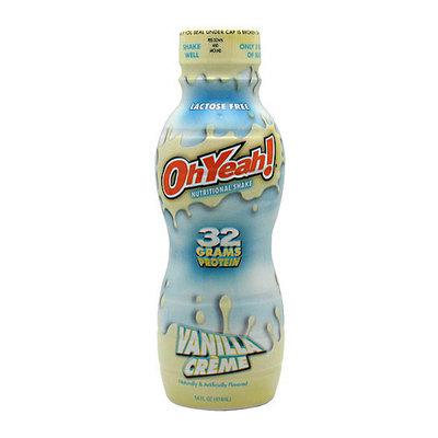 Oh Yeah! Vanilla Creme Nutritional Shake