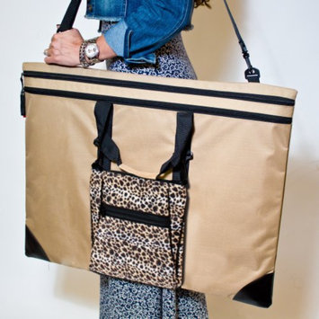 Martin Universal Beige Folio Tango Combo with Leopard Tablet Bag