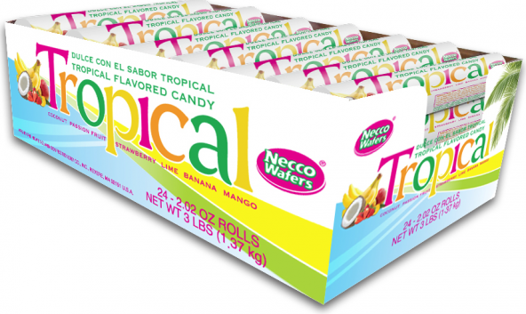 Necco  Tropical Wafers