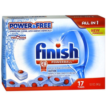 Reckitt Benckiser Finish Automatic Dishwasher Detergent Powerball Power & Free with
