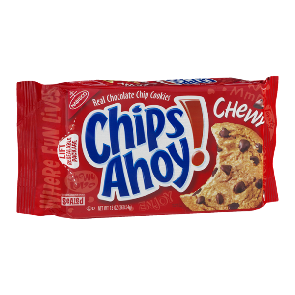 Nabisco Chips Ahoy! Chewy Chocolate Chip Cookies