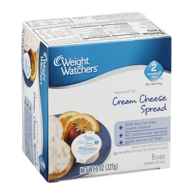Weight Watchers Cream Cheese Spread Reduced Fat - 8 CT