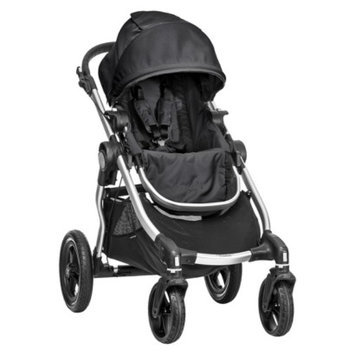 Baby Jogger City Select 4-Wheel Stroller - Onyx with Silver Frame