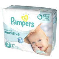 Pampers Swaddlers Sensitive Diapers Size 2 Jumbo Pack