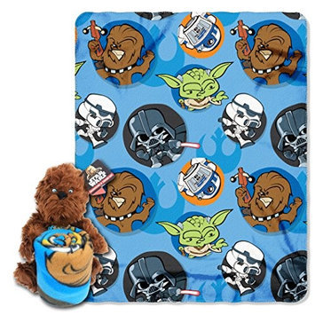Northwest Company Star Wars Classic Chewie Hugger and Throw Set
