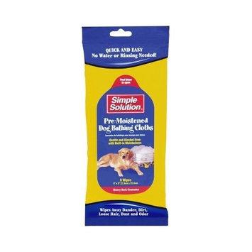 Bramton Simple Solution Pre-Moistened Dog Bathing