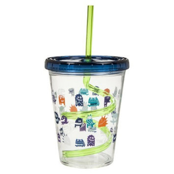 Monsters Straw Sippy Cup Set of 3 - Multicolor by Circo