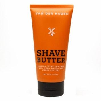 Van Der Hagen Shave Butter, 6 oz
