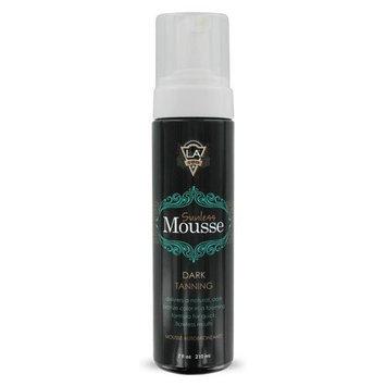 LA Tan Sunless Mousse Dark Natural Bronze Tanning 7 oz.