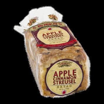 S. Rosen's Sweet Mornings Apple Cinnamon Streusel Bread