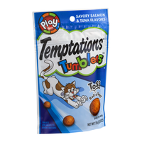 Temptations Tumblers Treats For Cats Savory Salmon & Tuna