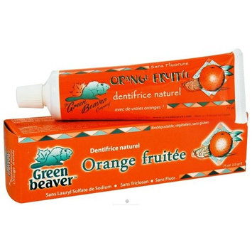 Flora Toothpaste Zesty Orange 2.50 Ounces