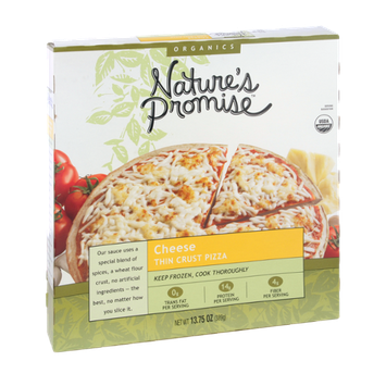 Nature's Promise Cheese Thin Crust Pizza