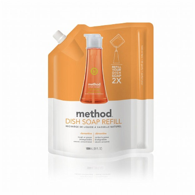 method dish soap refill clementine reviews