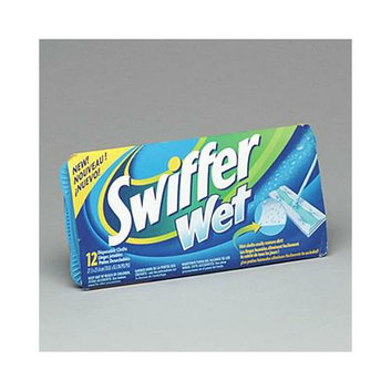 Procter & Gamble Professional Premoistened Swiffer Sweeper System Wet Refill Cloths
