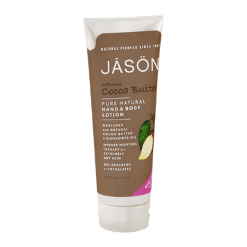 Jason Pure Natural Hand & Body Lotion Softening Cocoa Butter