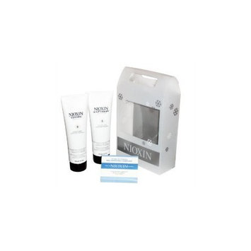 Nioxin System 6 Cleanser & Scalp Therapy Duo Set for Fine Hair Natural Noticeably Thinning Hair 8.5 Oz Duo Holiday Set