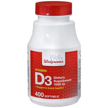 Walgreens Vitamin D3 1000 IU
