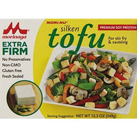 Mori Nu Mori-Nu Tofu, Silken Style, Extra Firm, 12.3-Ounce Boxes (Pack of 12)