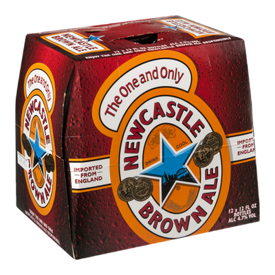 Newcastle Brown Ale Beer Bottles - 12 CT