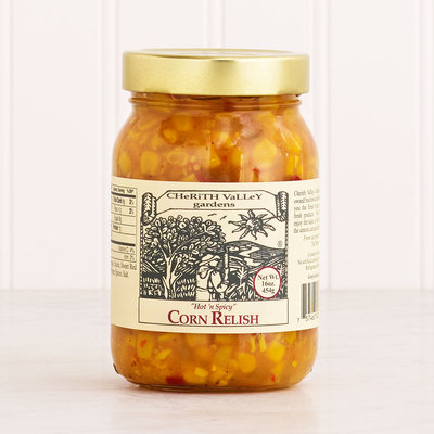 Hot & Spicy Corn Relish