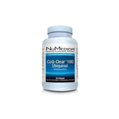 NuMedica - CoQ-Clear 100 Ubiquinol (Citrus) - 60 Softgels